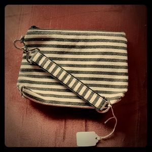 Mini Zipper Pouch with matching Key Fob